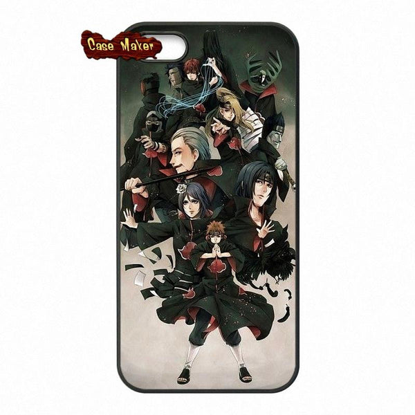 Akatsuki Naruto Shippuden Customized Fashion Phone Case