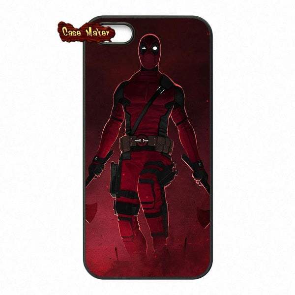 Bad Ass Character Deadpool Protective Phone Case
