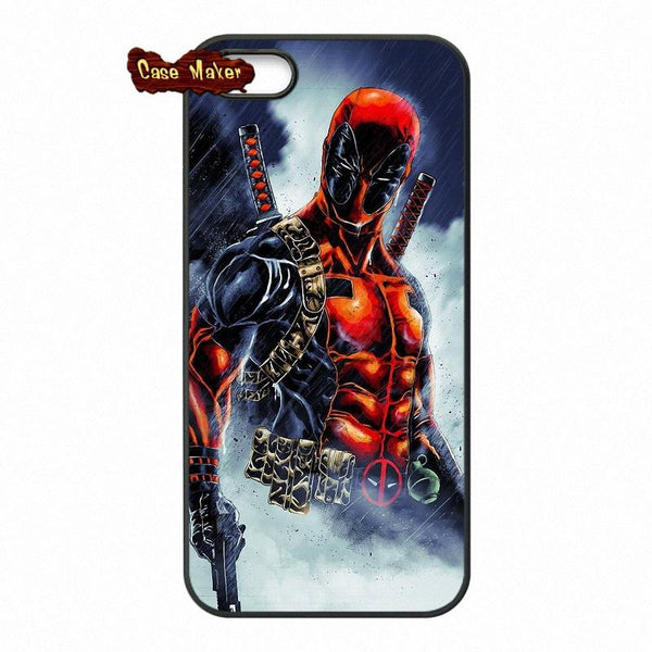 Bad Ass Character Deadpool Protective WallPaper Phone Case