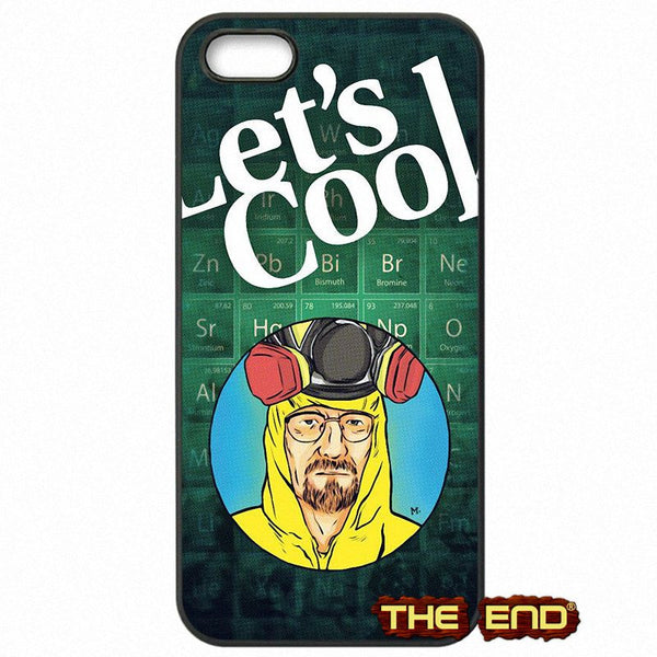 Breaking Bad Walter Blue Background Phone Case
