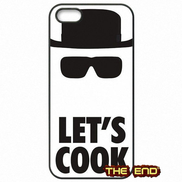 Breaking Bad Lets Cook Black Phone Case