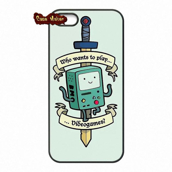 Adventure Time Bmo And Sword Phone Case