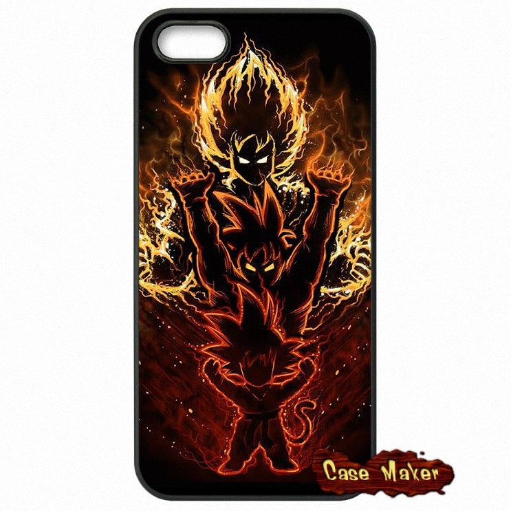Goku Strength Increases With Time Phone Case