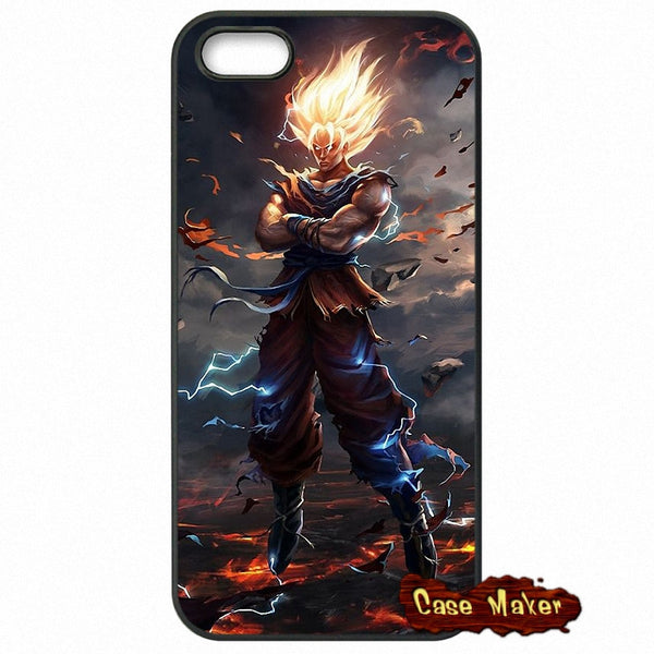 Dragon Ball Z Goku Fire Phone Case