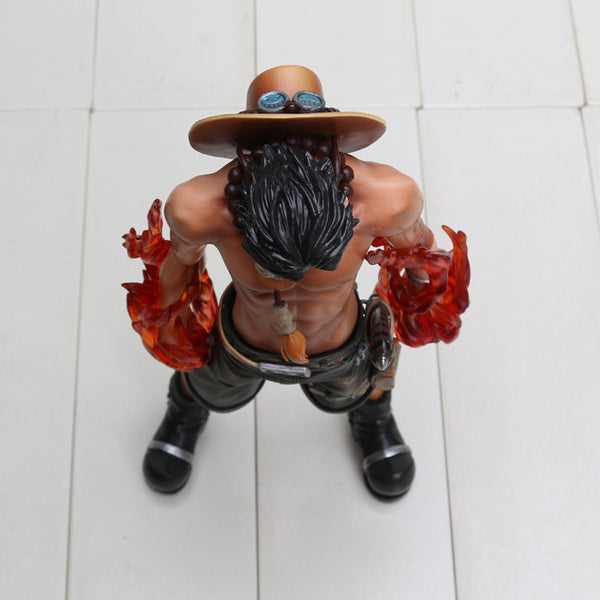 Anime One Piece Fire Fist Ace - Portgas D Ace PVC Toy
