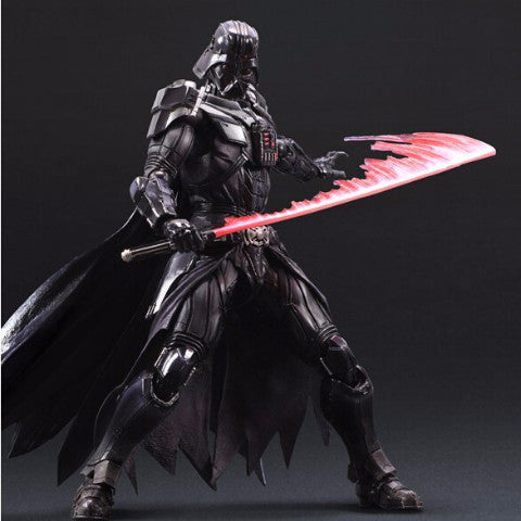 Revoltech Darth Vader Black Knight PVC Toy