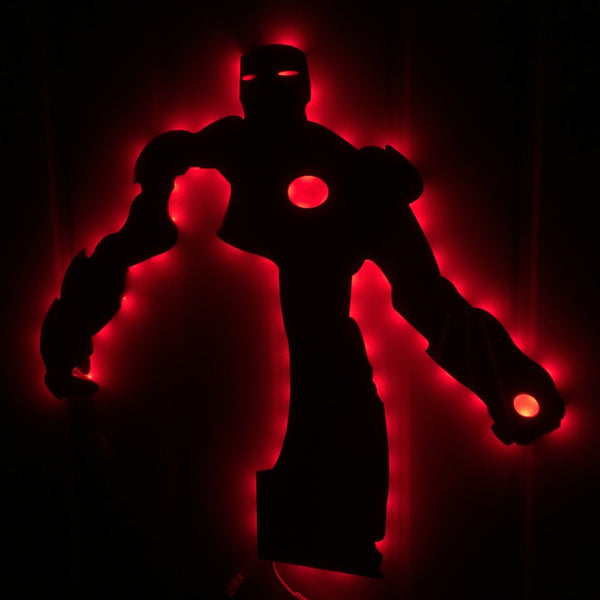 Iron Man Wall Lamp