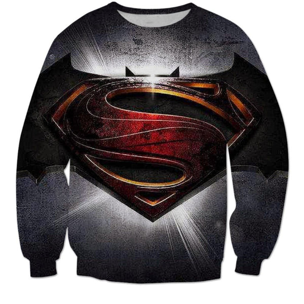 Batman vs Superman 3D Printed Shirts