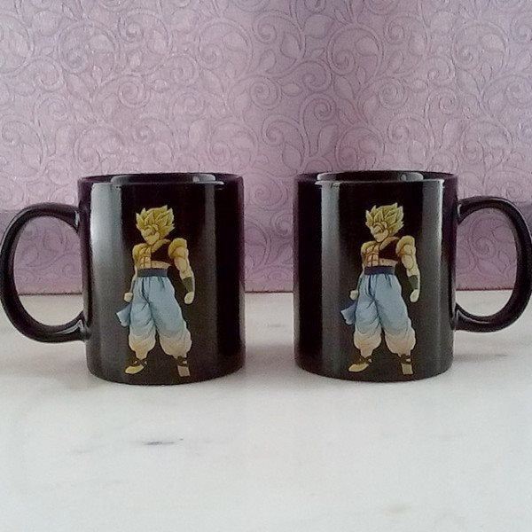 Heat Color Changing Gogeta SSJ2 Mugs