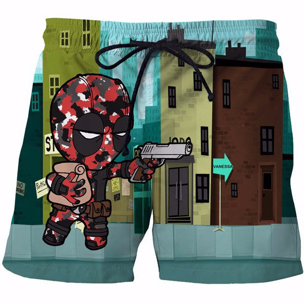 Bandit Deadpool 3D Shorts