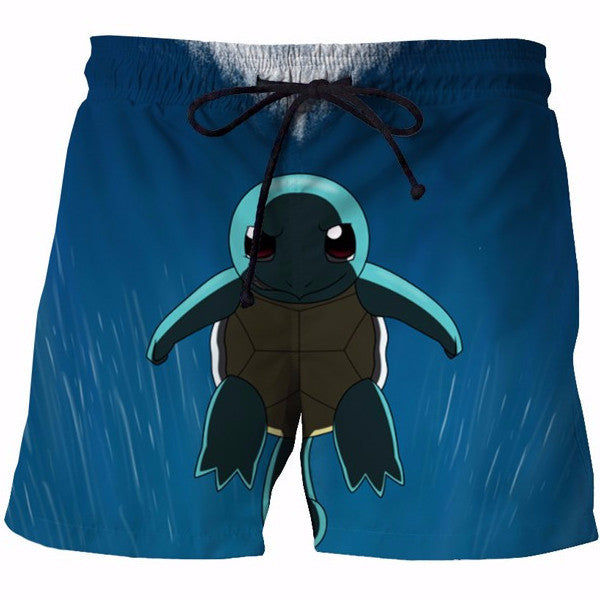 Cute Squirtle 3D Shorts