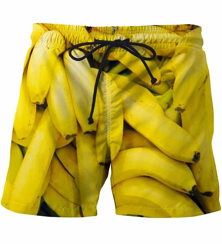 Bananas Fruits Shorts