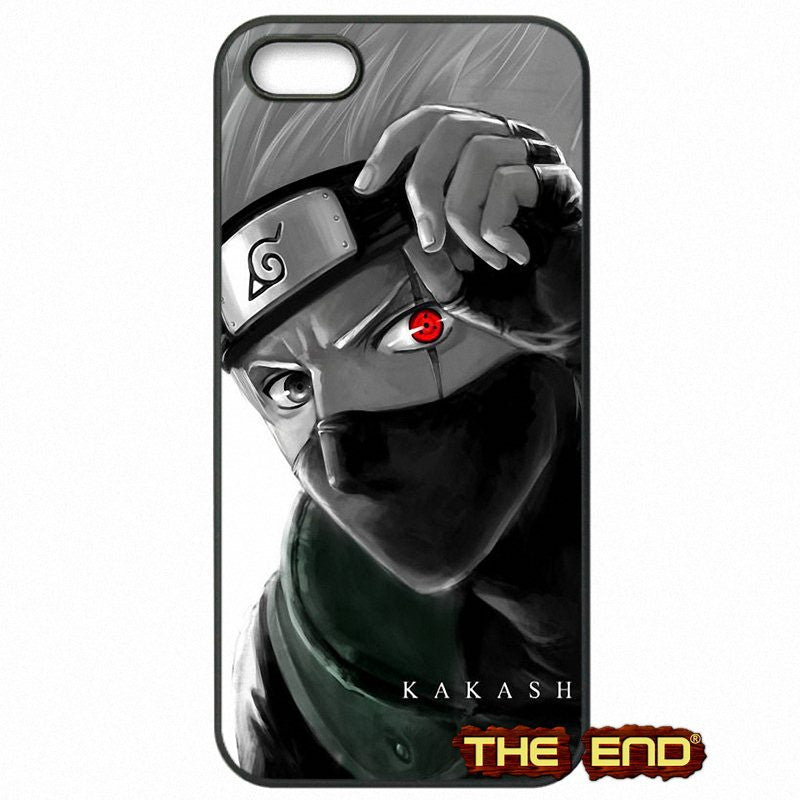 Kakashi Hatake of The Sharingan Phone Case