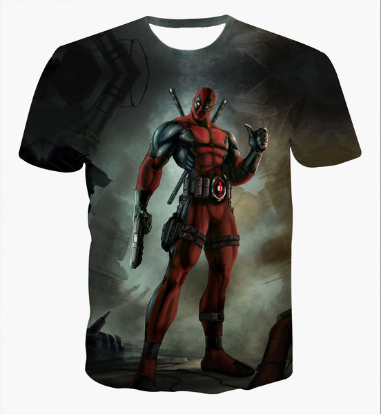 Deadpool Classical 2 Printed Shirts