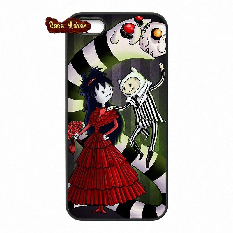 Adventure Time Finn And Marceline Phone Case