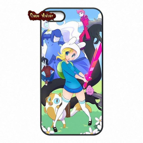 Adventure Time Fionna And Cake Phone Case