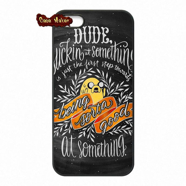 Adventure Time Jake The Dog Quotes Phone Case