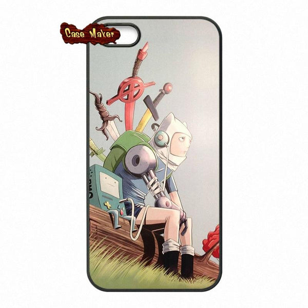 Adventure Time Finn And Bmo Phone Case