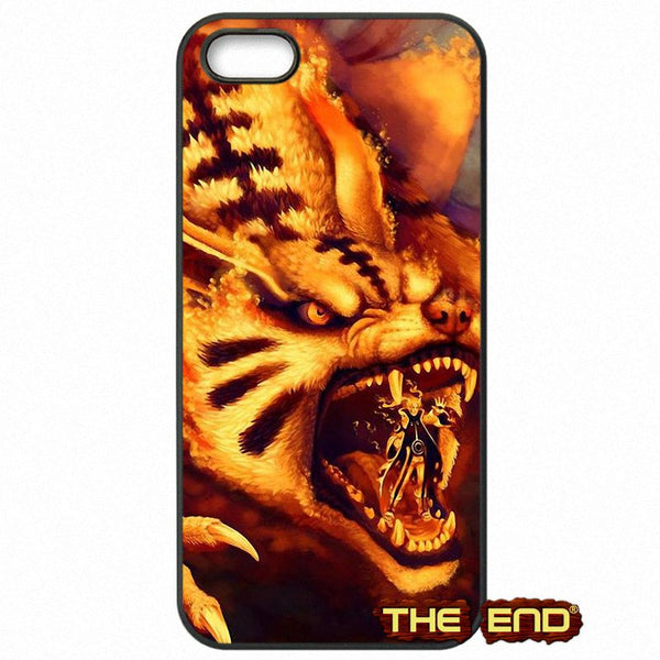 Naruto and Nine Tailed Phone Case