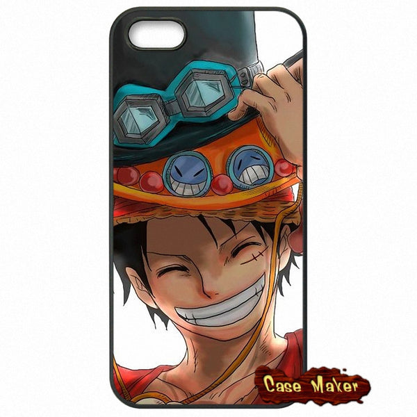 One Piece Luffy Three Cups Phone Case
