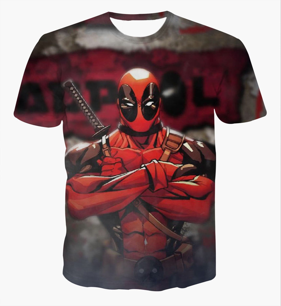 Deadpool See 3D Printed Shirts
