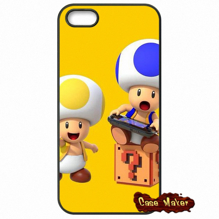 Yellow Toad And Blue Toad Phone Case