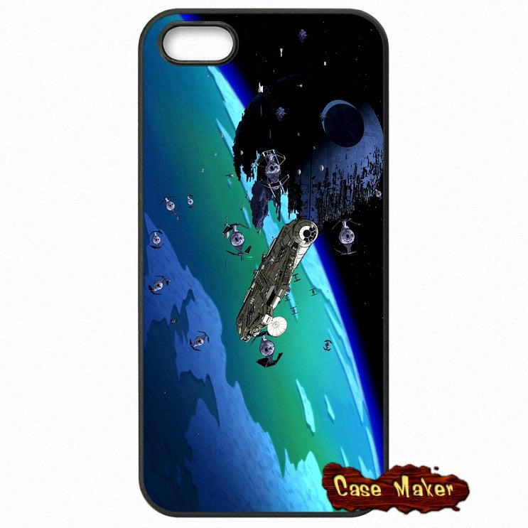 Vintage Star Wars Spaceship 1 Phone Case