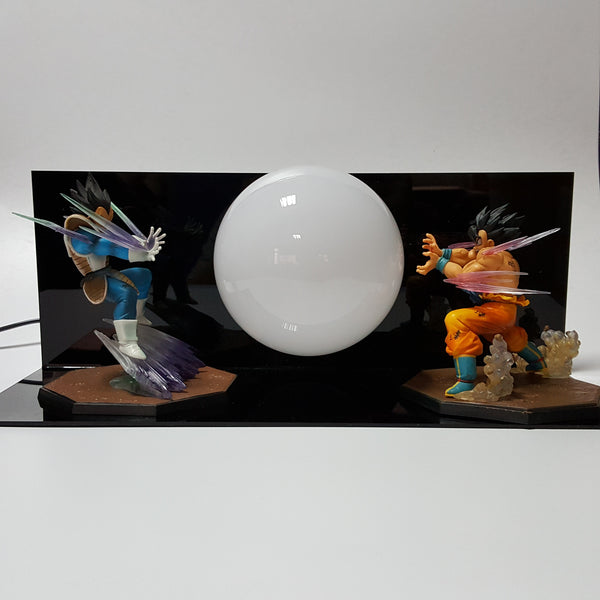 Goku vs Vegeta 3D Lamp