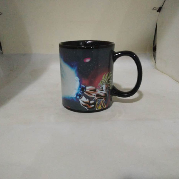 Heat Color Changing Goku Kamehameha Mugs