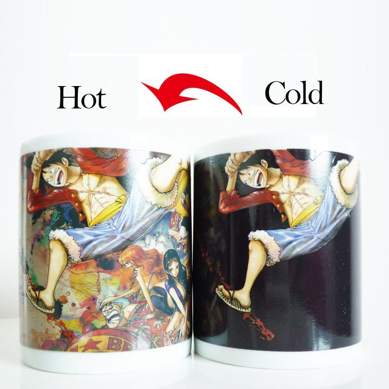 One Piece Luffy New Color Changing Mug