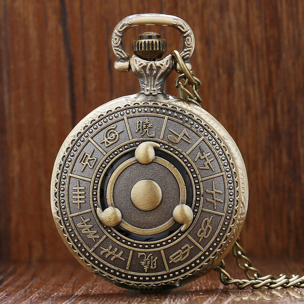 Sasuke Sharingan Pocket Watch
