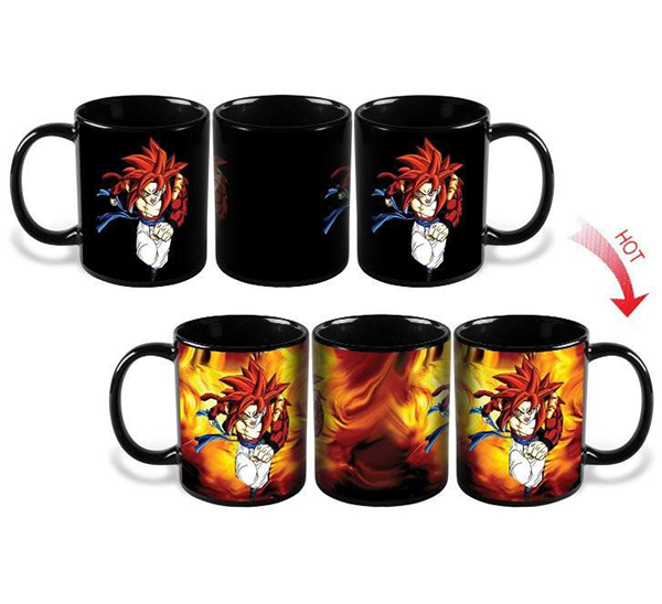 Heat Color Changing Gogeta SSJ4 Mugs
