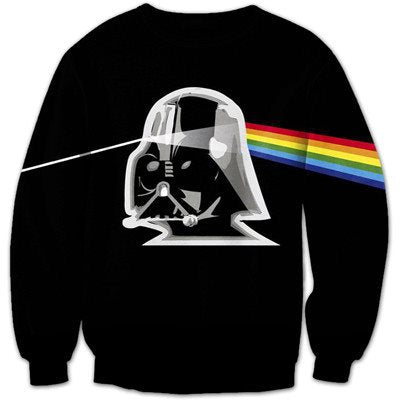 Darth Vader Rainbow 3D Shirts