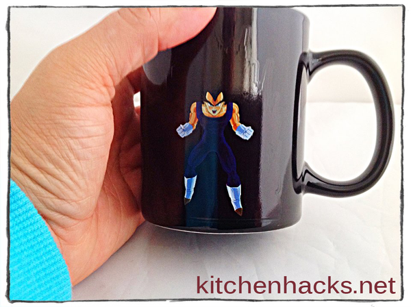 Heat Color Changing Vegeta Mugs