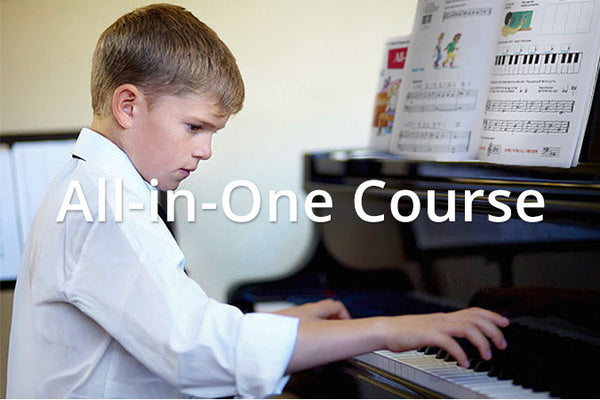 Alfred's Basic Piano All-in-One Course