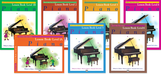 Alfred's Basic Piano Course Covers
