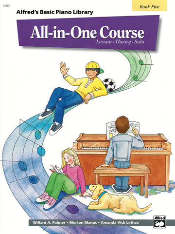 Alfred's Basic All-in-One Course, Book 5