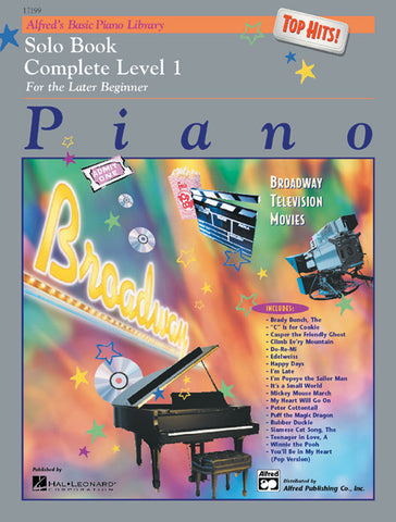 Alfred's Basic Piano Library: Top Hits! Solo Book Complete 1 (1A/1B)