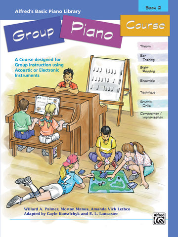 Alfred's Basic Group Piano Course, Book 2