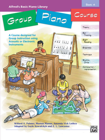 Alfred's Basic Group Piano Course, Book 4