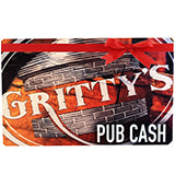 Gritty's $50 Christmas Gift Card with Bonus $10 Gift Card for FREE!
