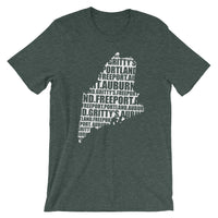 Locations design Short-Sleeve Unisex T-Shirt