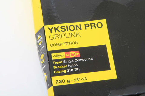 "Mavic Yksion Pro Griplink Competition 28""-23 Tubular Tire - My Bike Shop  - 2"