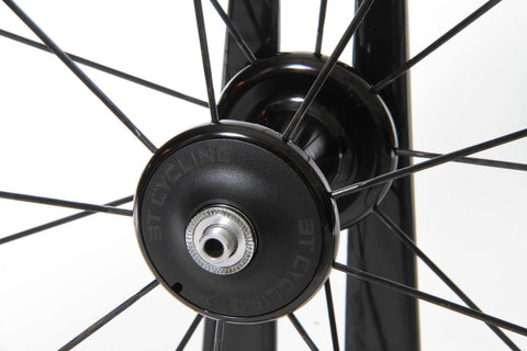 2016 3T Mercurio 60 LTD Stealth Carbon Tubular Wheel Set - Full Warranty - My Bike Shop  - 8