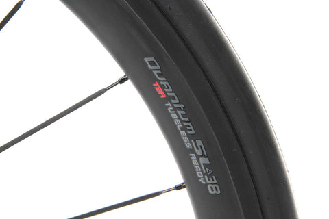 2017 Aerus Quantum SL 38 Carbon Clincher Wheel Set - My Bike Shop  - 5