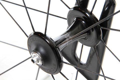 2016 3T Mercurio 60 LTD Stealth Carbon Tubular Wheel Set - Full Warranty - My Bike Shop  - 9