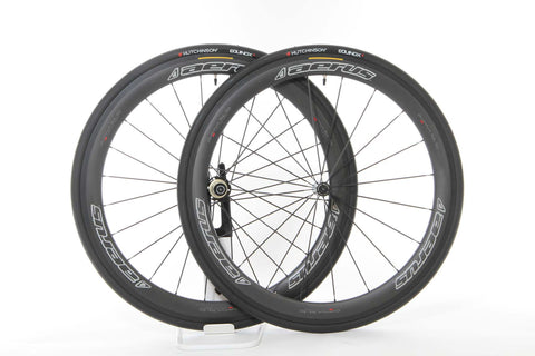 2017 Aerus Quantum SL 50 Carbon Clincher Wheel Set - My Bike Shop  - 1