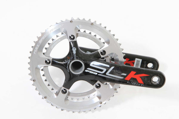 FSA SL/K Light Carbon Crank Set - 53/39t - 175mm - BB30 - 130BCD - Full Warranty - My Bike Shop  - 1
