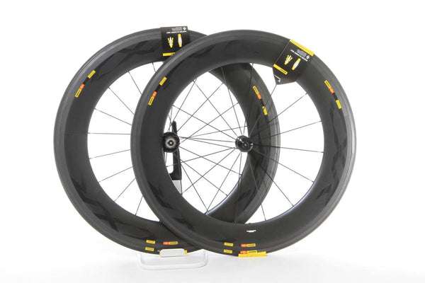 2017 Mavic CXR Ultimate 80 WTS Tubular Wheel Set - My Bike Shop  - 1