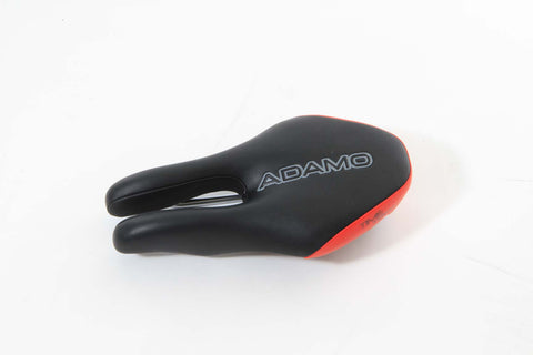ISM Adamo Time Trial Saddle - Black/Red - My Bike Shop  - 1